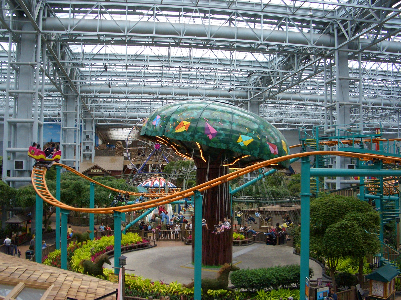Mall of America の Camp Snoopy / キャンプ・スヌーピー